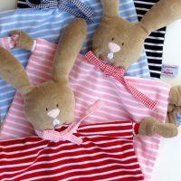 Schmusetücher Mädchen - Hase 7